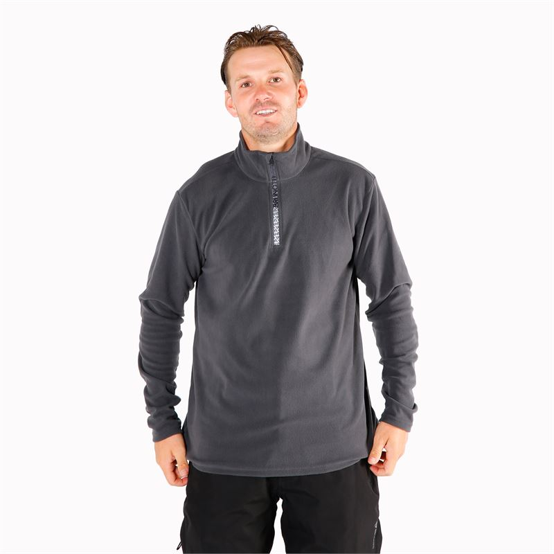 Brunotti Tenno  (grijs) - heren fleeces - Brunotti online shop