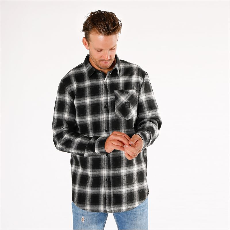 Brunotti Dukes  (black) - men shirts - Brunotti online shop