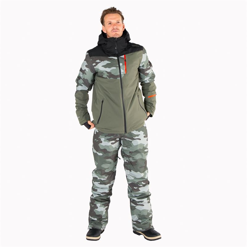 Brunotti Kitebar  (green) - men snow pants - Brunotti online shop