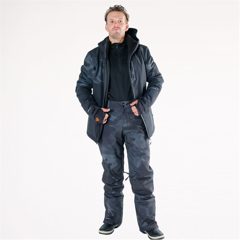 Brunotti Kitebar  (zwart) - heren skibroeken - Brunotti online shop