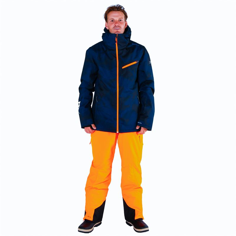 Brunotti Damiro  (orange) - men snow pants - Brunotti online shop