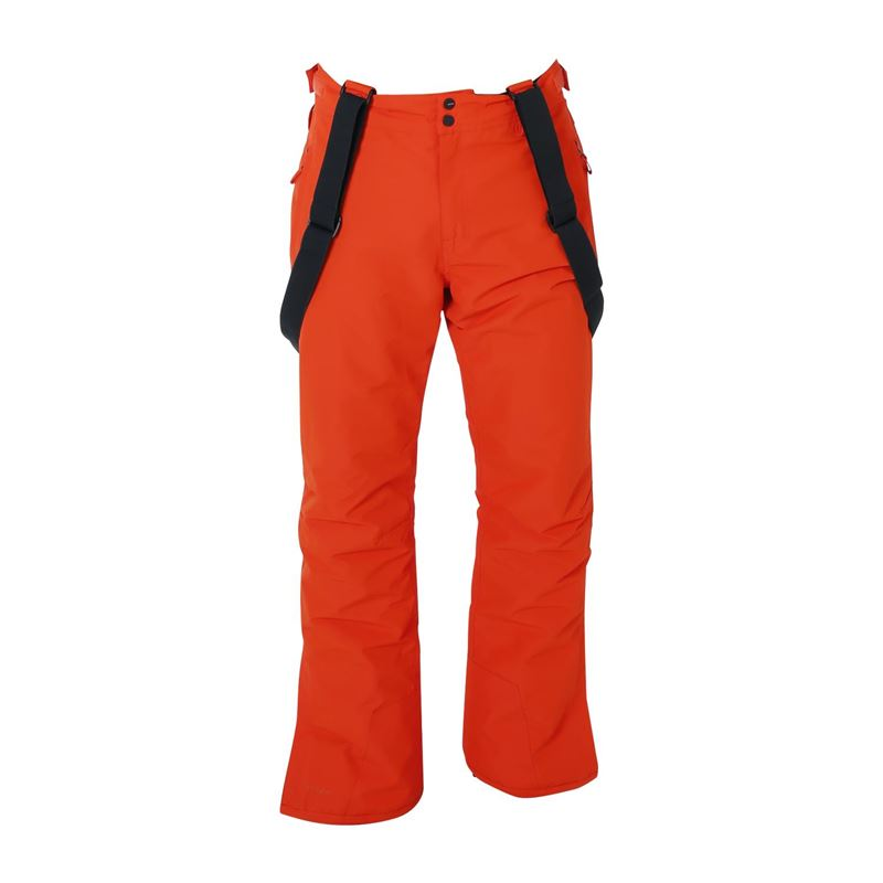 Brunotti Footstrap  (red) - men snow pants - Brunotti online shop