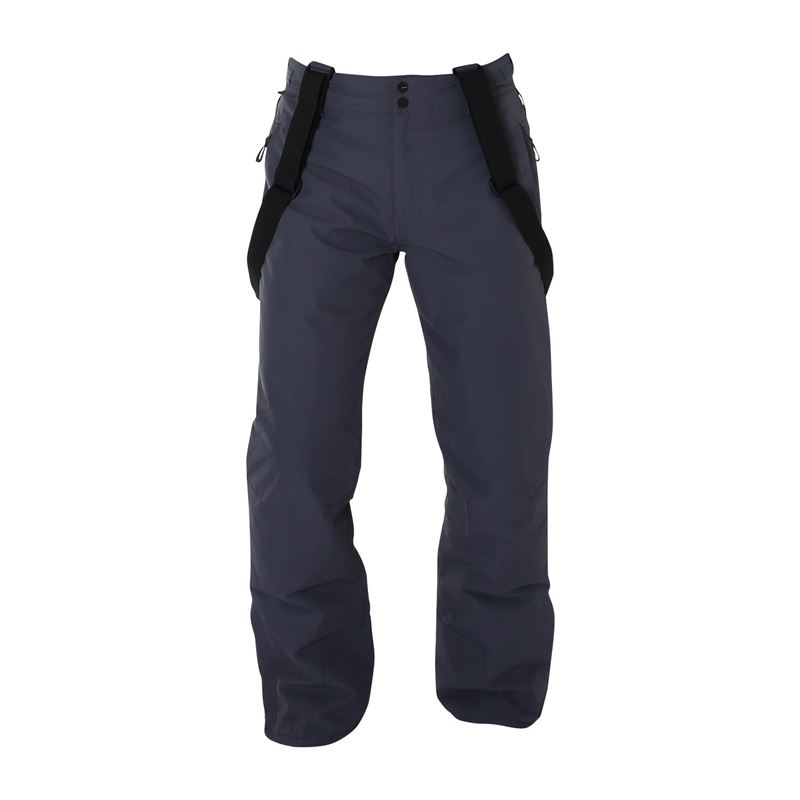 Brunotti Footstrap  (grey) - men snow pants - Brunotti online shop