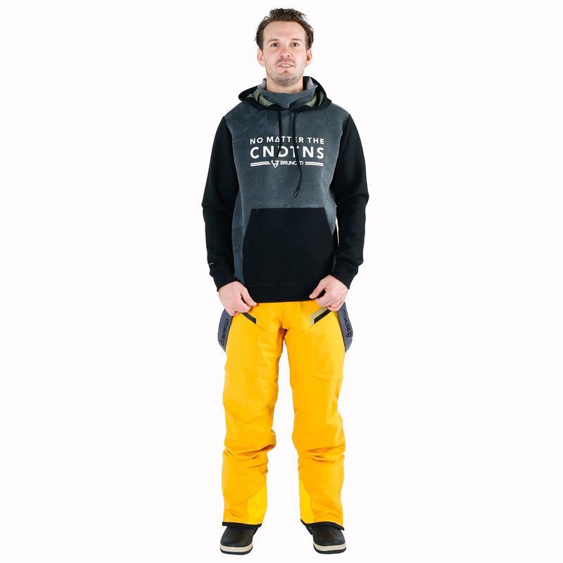 Brunotti Hyena  (yellow) - men snow pants - Brunotti online shop