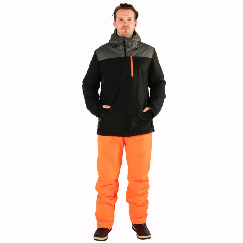 Brunotti Gobi  (oranje) - heren skibroeken - Brunotti online shop