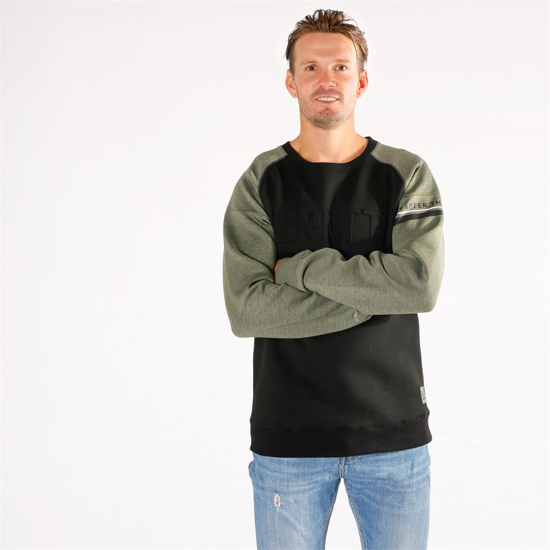 Brunotti Finfoot  (green) - men sweats & cardigans - Brunotti online shop