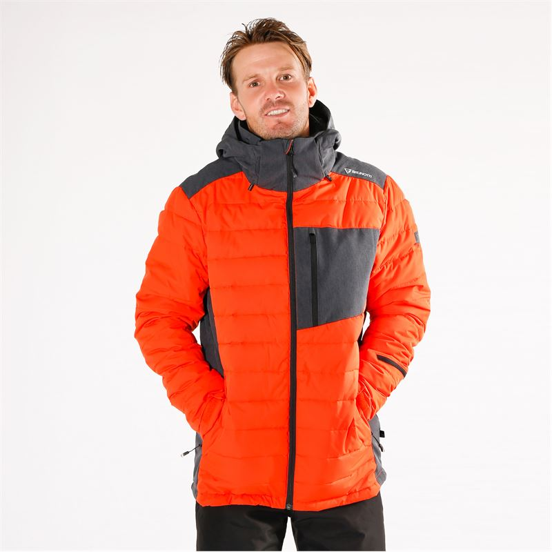 Brunotti Trysail  (red) - men snow jackets - Brunotti online shop