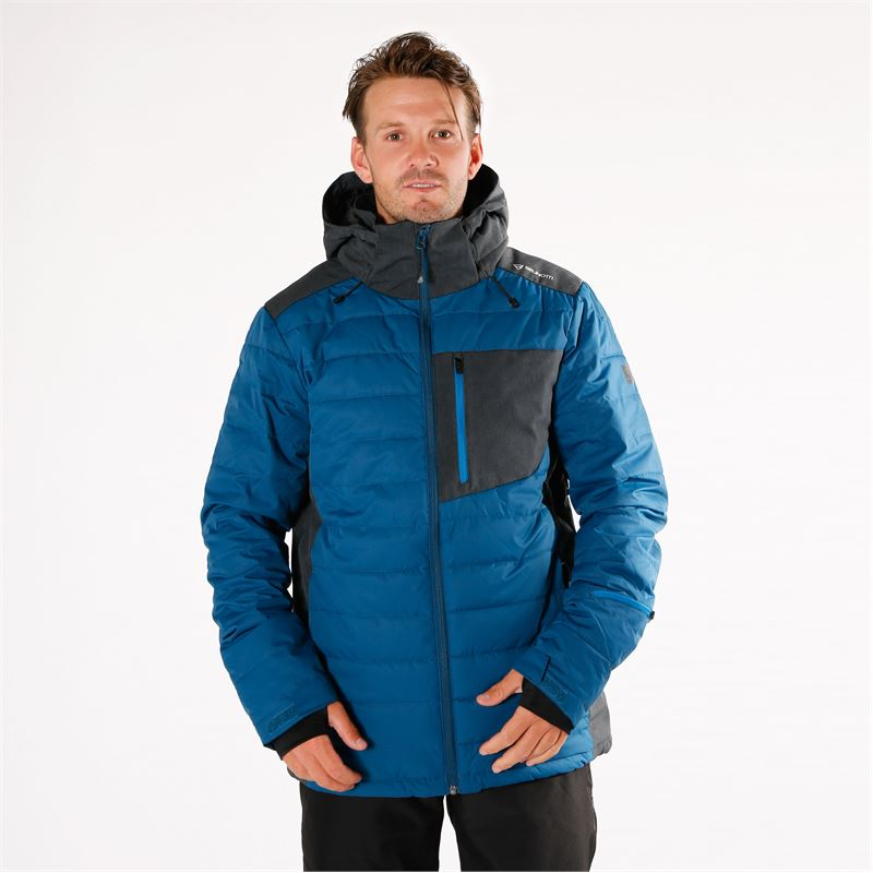 Brunotti Trysail  (blue) - men snow jackets - Brunotti online shop