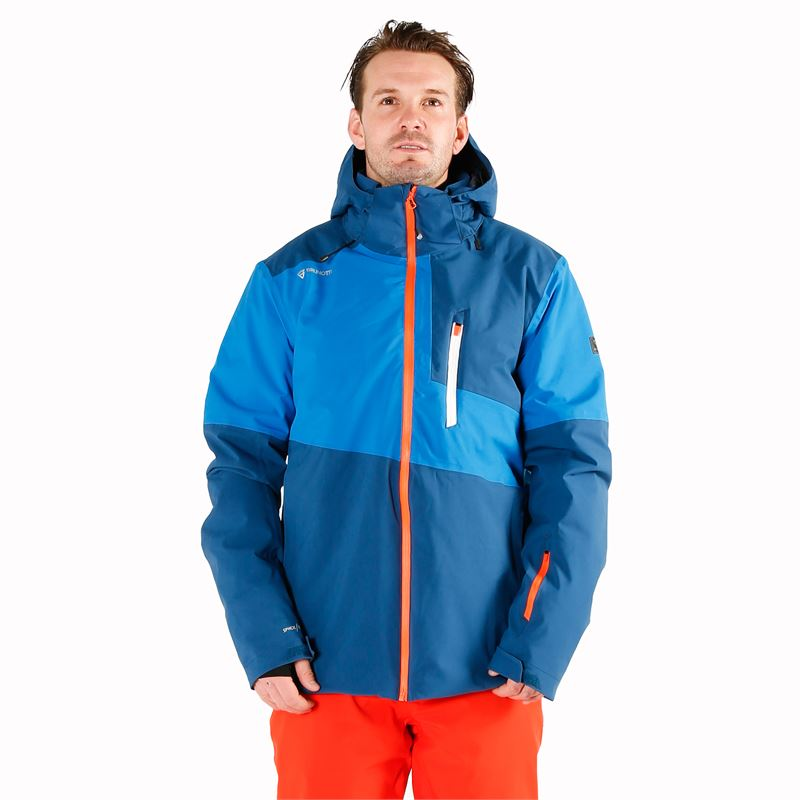 Brunotti Strokers  (blue) - men snow jackets - Brunotti online shop