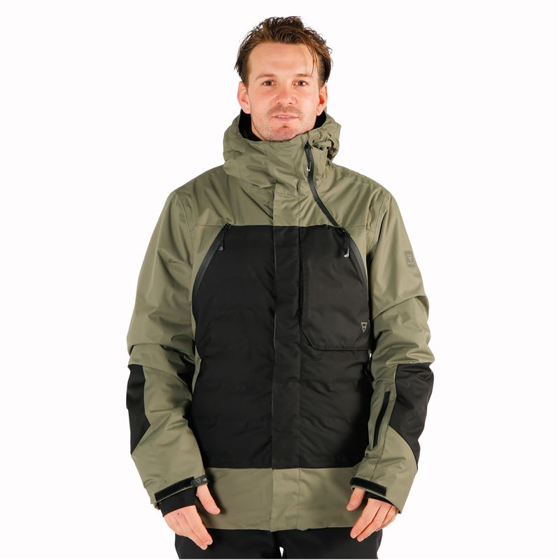 Brunotti Spark  (green) - men snow jackets - Brunotti online shop