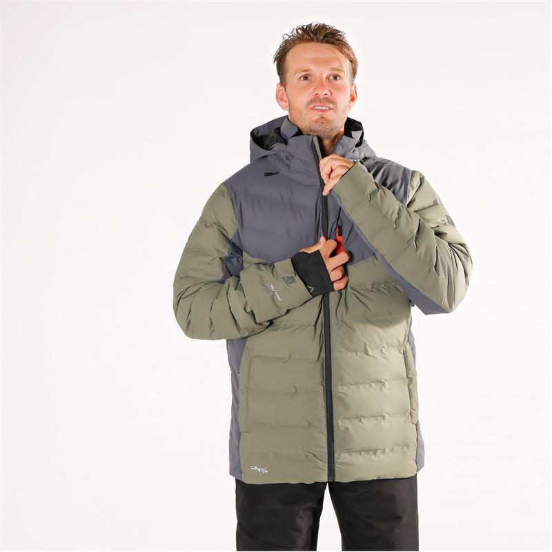 Brunotti Sergas  (grijs) - heren ski-jassen - Brunotti online shop