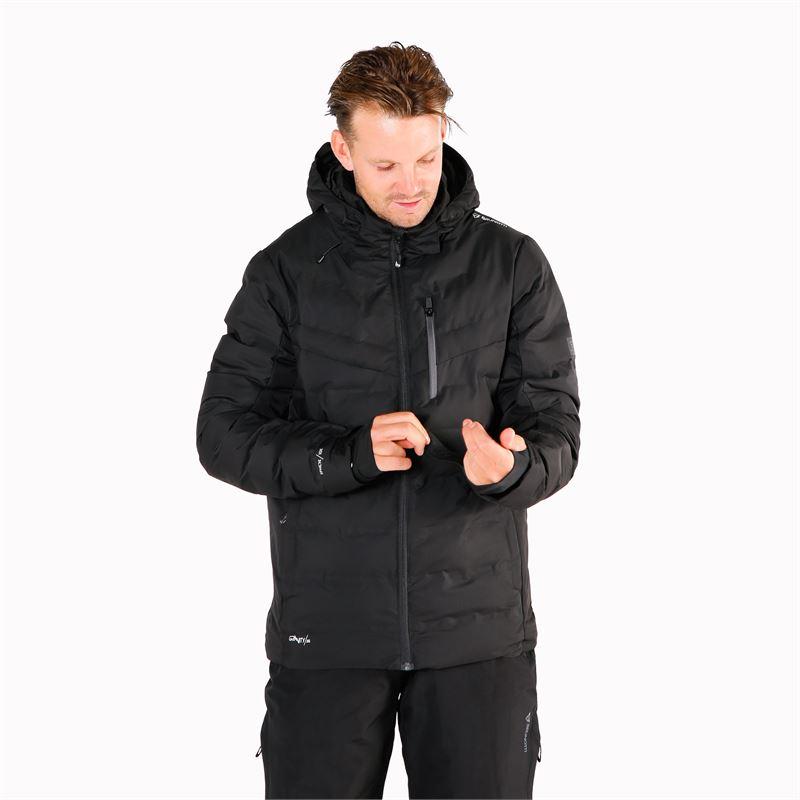 Brunotti Sergas  (zwart) - heren ski-jassen - Brunotti online shop