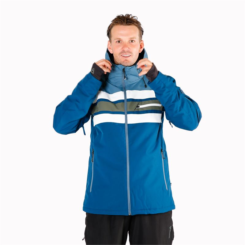 Brunotti Gleason  (blue) - men snow jackets - Brunotti online shop