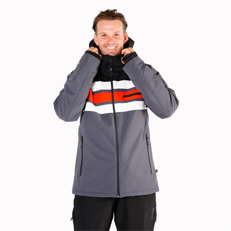 Brunotti Gleason  (grey) - men snow jackets - Brunotti online shop