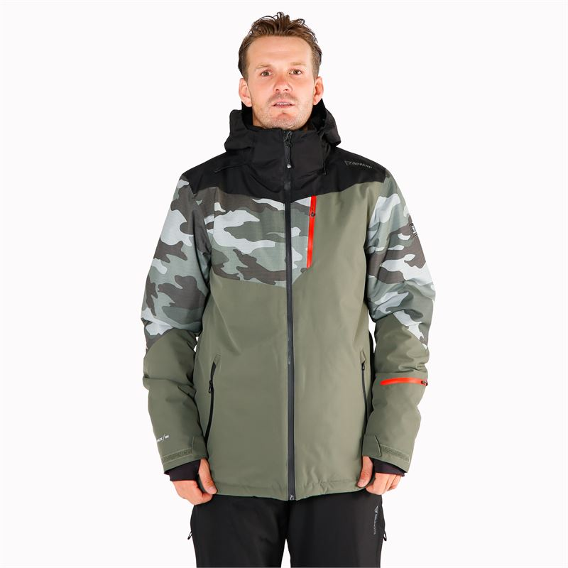 Brunotti Dakoto  (green) - men snow jackets - Brunotti online shop