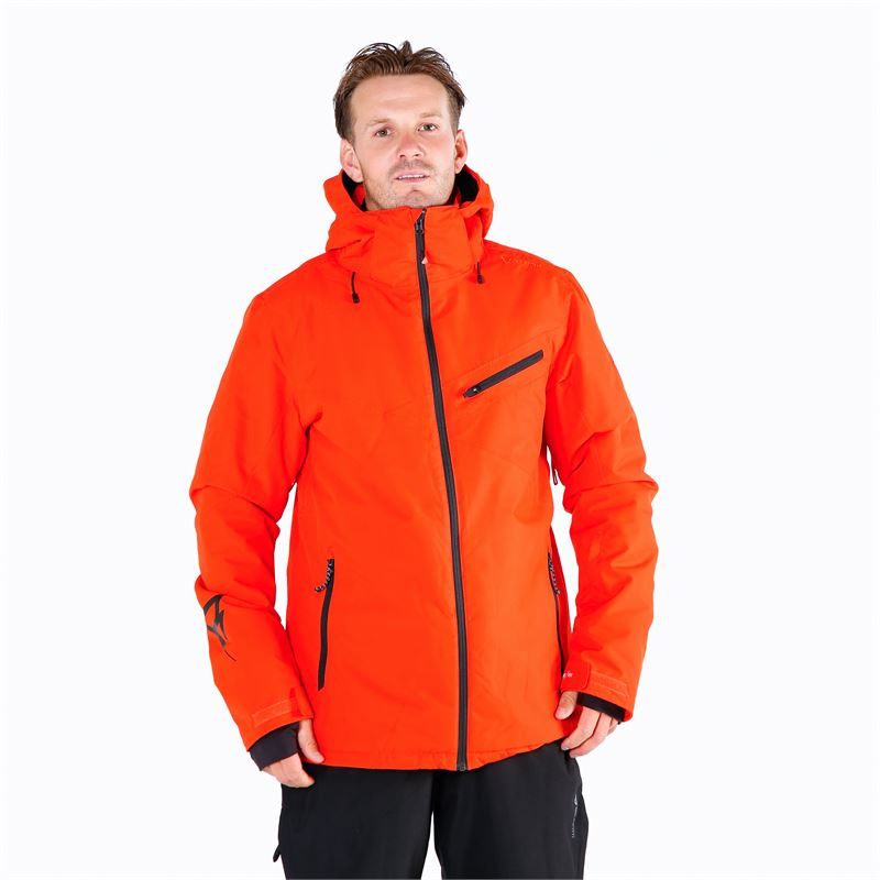 Brunotti Pander  (red) - men snow jackets - Brunotti online shop