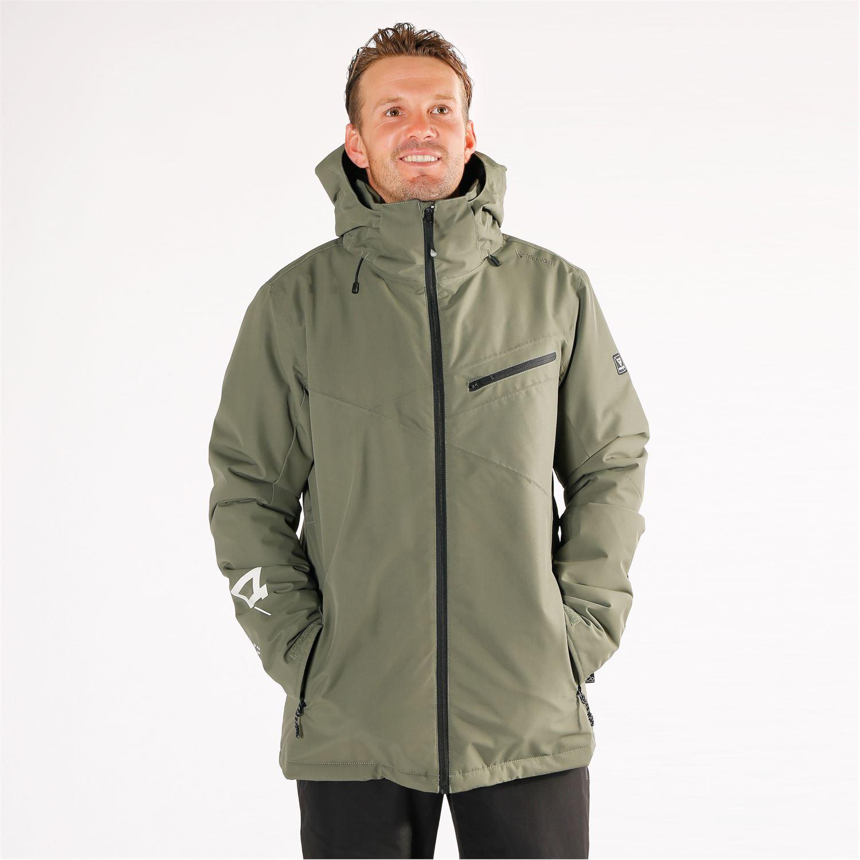 Brunotti Pander ski jas heren groen (ski jassen) | BESLIST