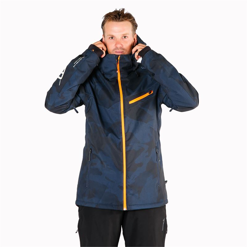 Brunotti Pander  (blue) - men snow jackets - Brunotti online shop