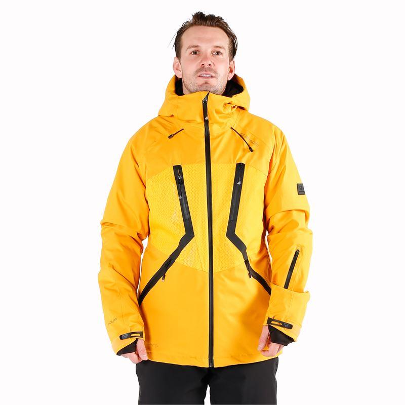 Brunotti Dark  (geel) - heren ski-jassen - Brunotti online shop