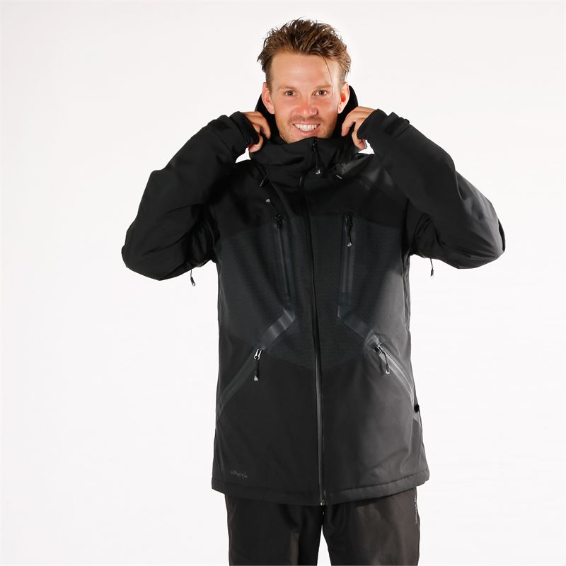 Brunotti Dark  (black) - men snow jackets - Brunotti online shop