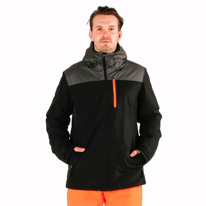 Brunotti Gibson  (zwart) - heren ski-jassen - Brunotti online shop