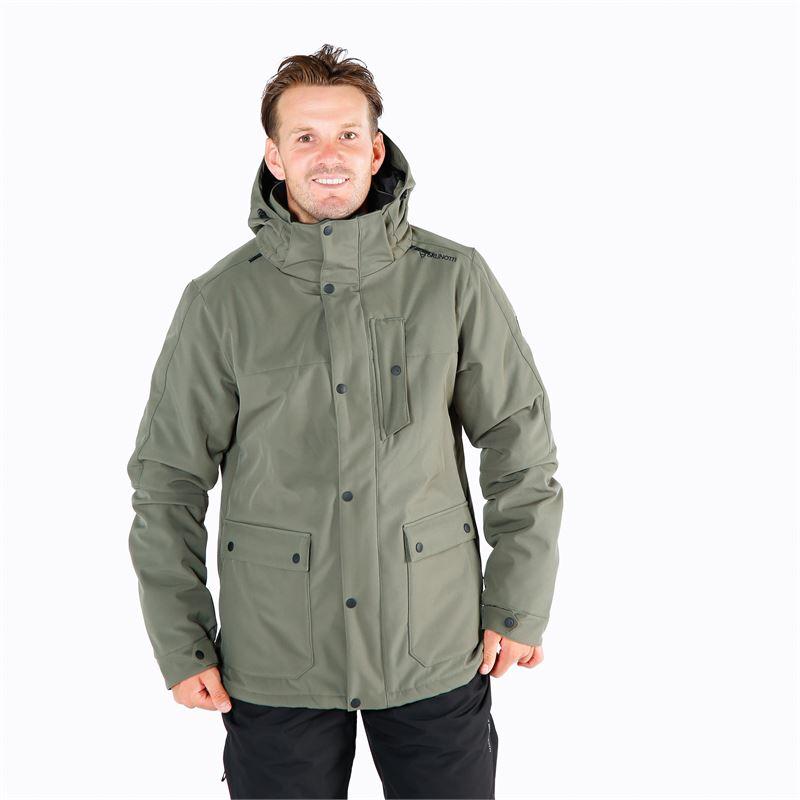 Brunotti Nauders  (groen) - heren ski-jassen - Brunotti online shop