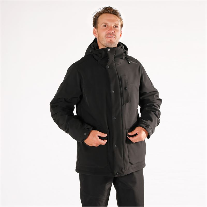 Brunotti Nauders  (black) - men snow jackets - Brunotti online shop