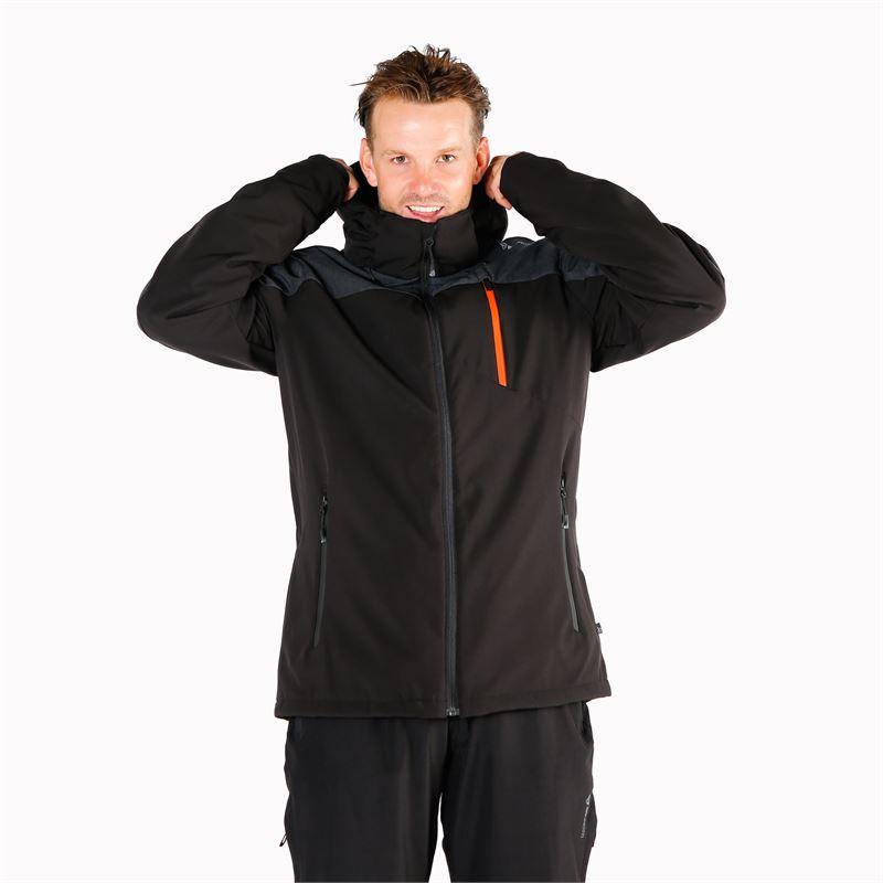 Brunotti Twintip  (zwart) - heren ski-jassen - Brunotti online shop