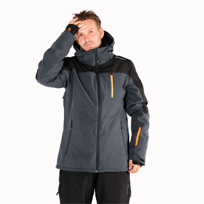 Brunotti Twintip  (grey) - men snow jackets - Brunotti online shop