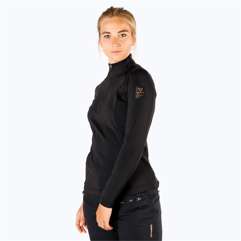Brunotti Sulu  (zwart) - dames fleeces - Brunotti online shop