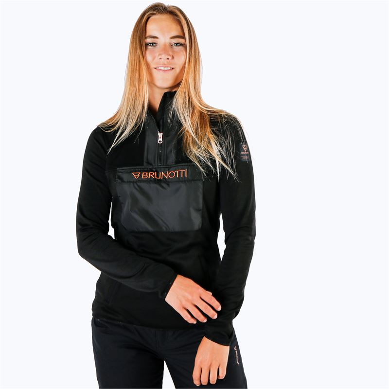 Brunotti Puffin  (black) - women fleeces - Brunotti online shop