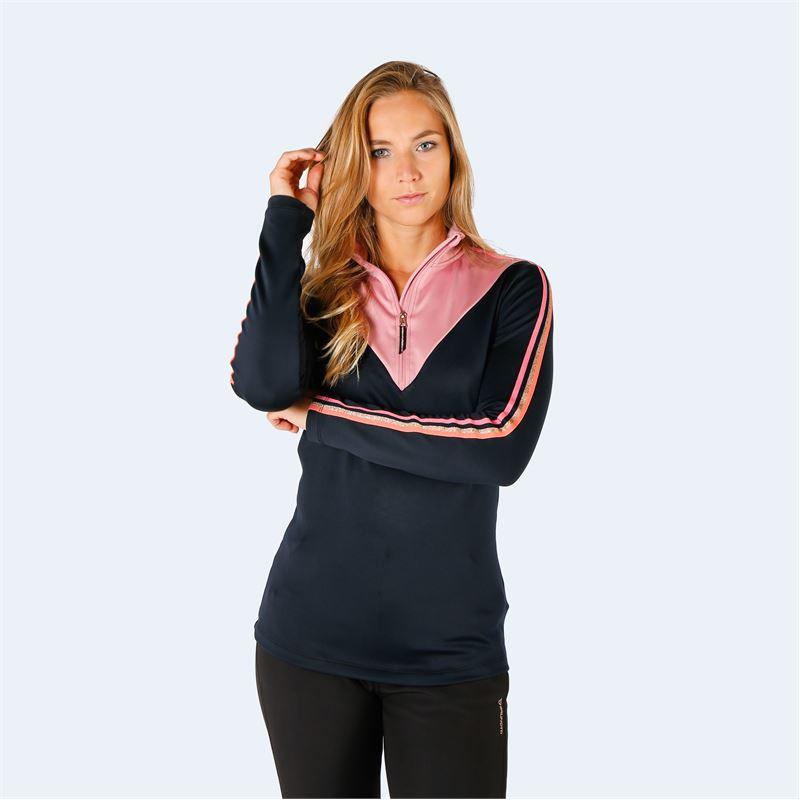 Brunotti Phesant  (roze|zwart) - dames fleeces - Brunotti online shop