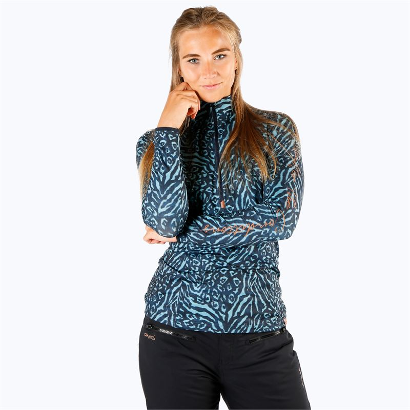 Brunotti Rodia  (blauw) - dames fleeces - Brunotti online shop