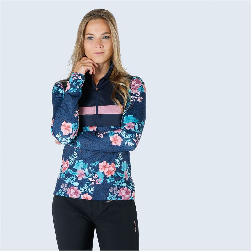 Brunotti Kiwi  (blue) - women fleeces - Brunotti online shop