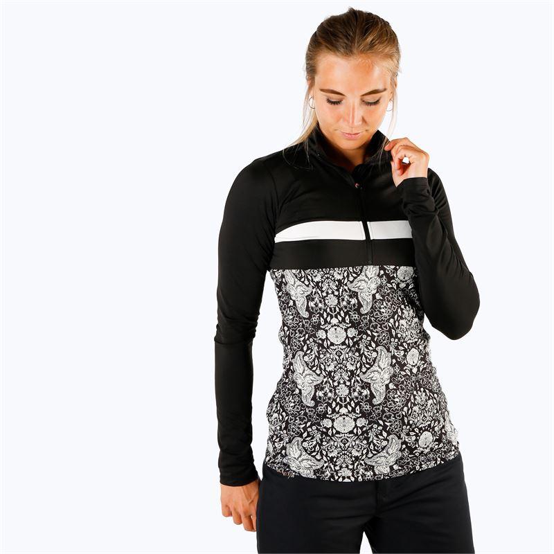 Brunotti Kiwi  (zwart) - dames fleeces - Brunotti online shop