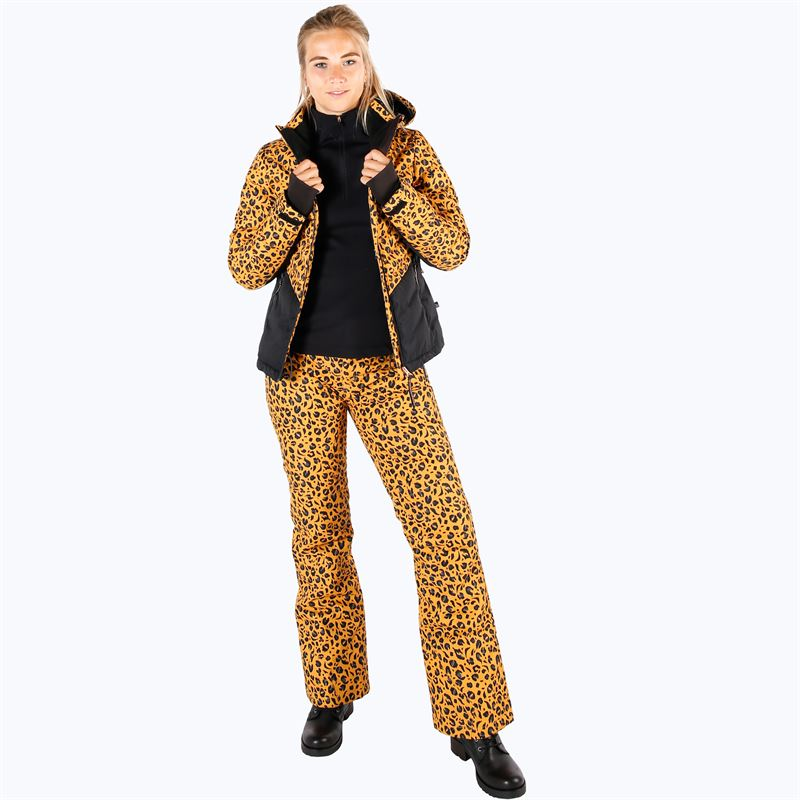Brunotti Kagu  (geel) - dames skibroeken - Brunotti online shop