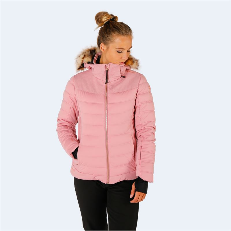 Brunotti Jaciano  (pink) - women snow jackets - Brunotti online shop