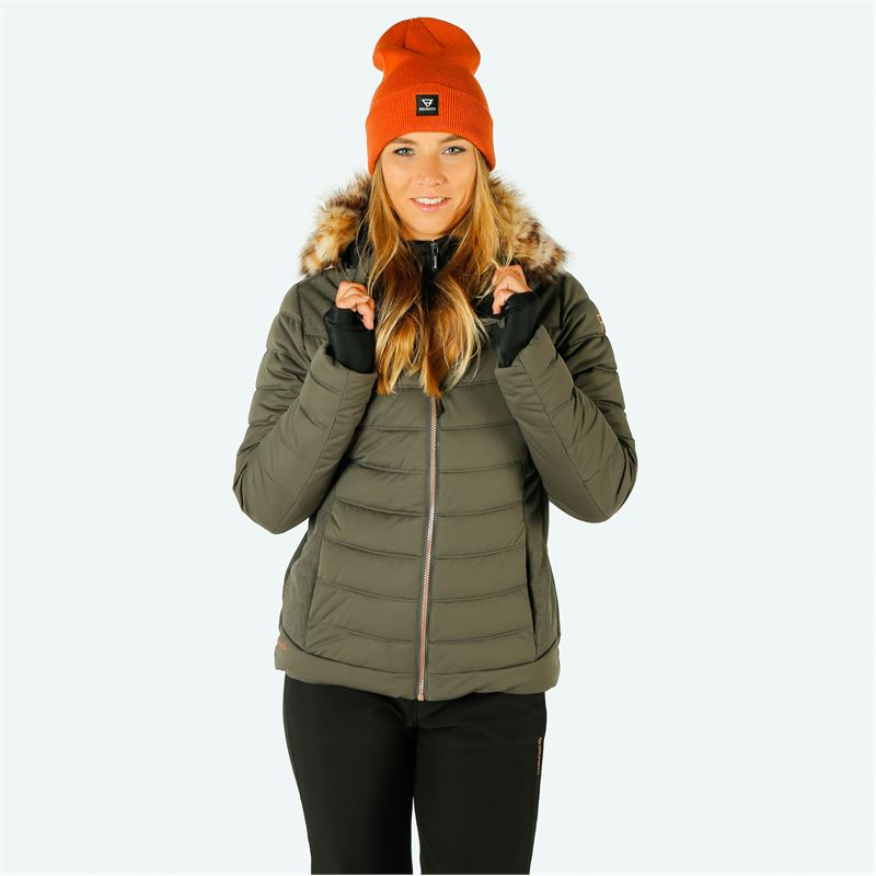 Brunotti Jaciano  (grey) - women snow jackets - Brunotti online shop