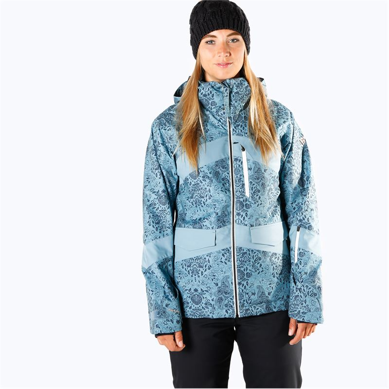Brunotti Garganey  (blau) - damen skijacken - Brunotti online shop