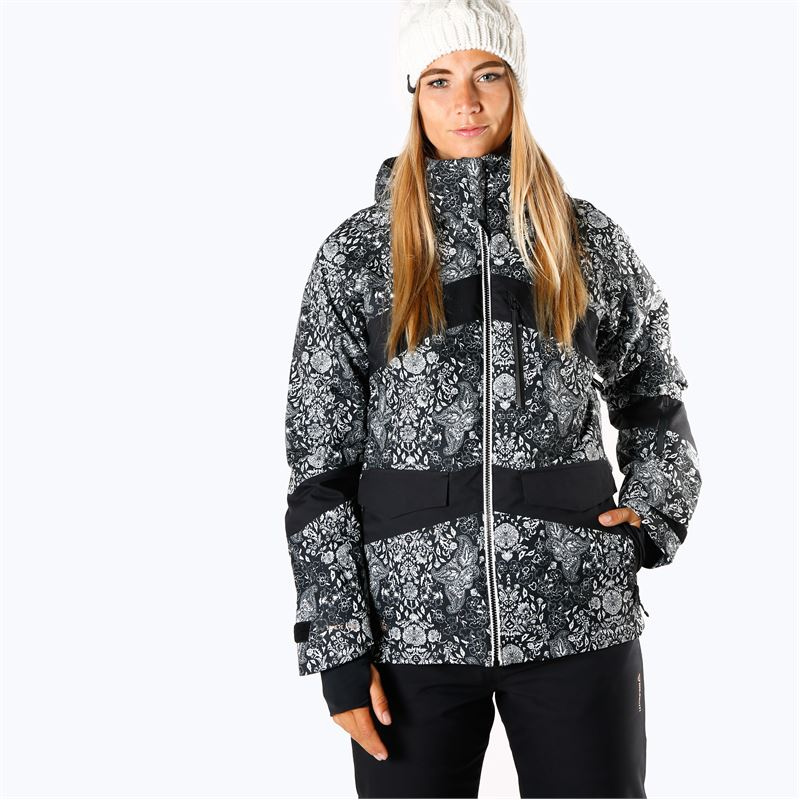 Brunotti Garganey  (black) - women snow jackets - Brunotti online shop