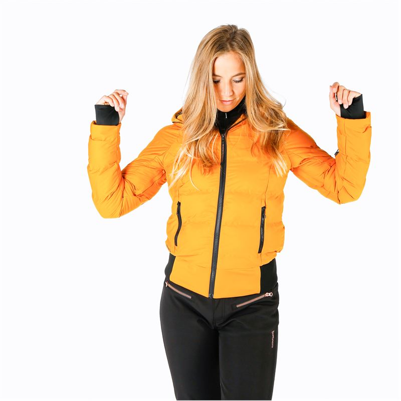 Brunotti Firecrown  (yellow) - women snow jackets - Brunotti online shop