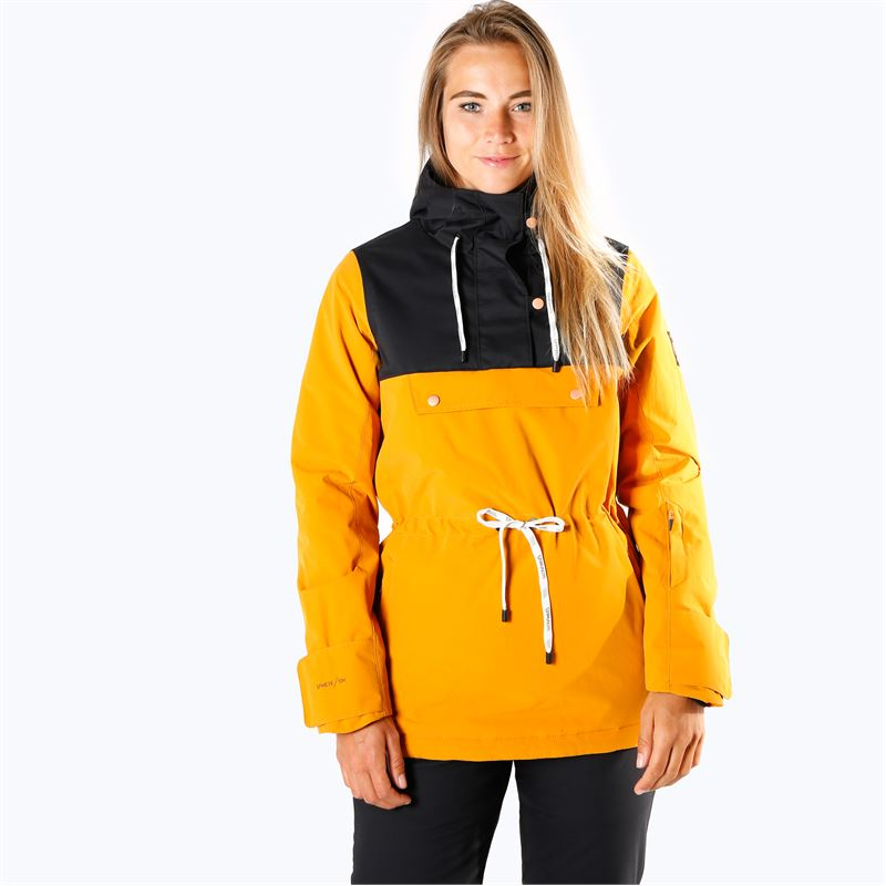 Brunotti Fireback  (geel) - dames ski-jassen - Brunotti online shop