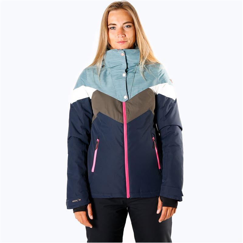 Brunotti Junglefowl  (blauw) - dames ski-jassen - Brunotti online shop