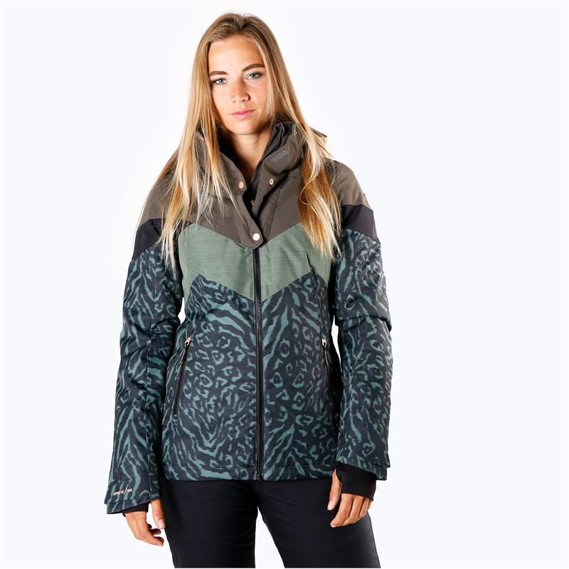 Brunotti Junglefowl  (grau) - damen skijacken - Brunotti online shop