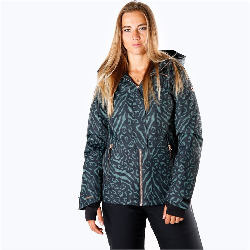 Brunotti Tiger-Heron  (grijs) - dames ski-jassen - Brunotti online shop