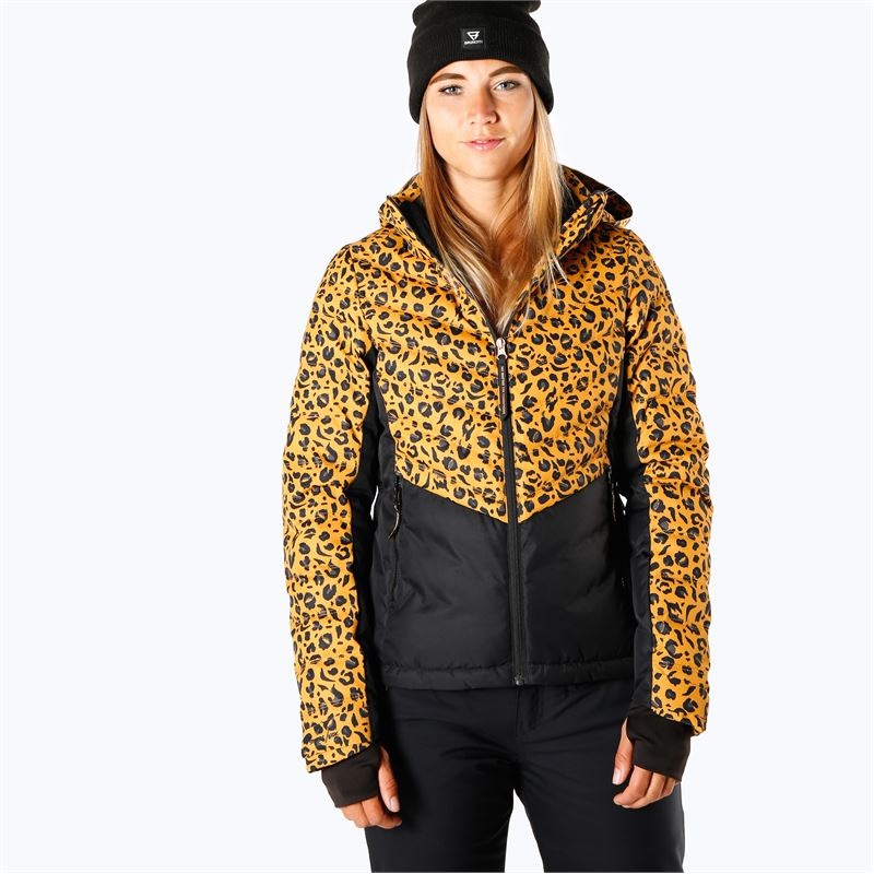 Brunotti Coronetta  (yellow) - women snow jackets - Brunotti online shop