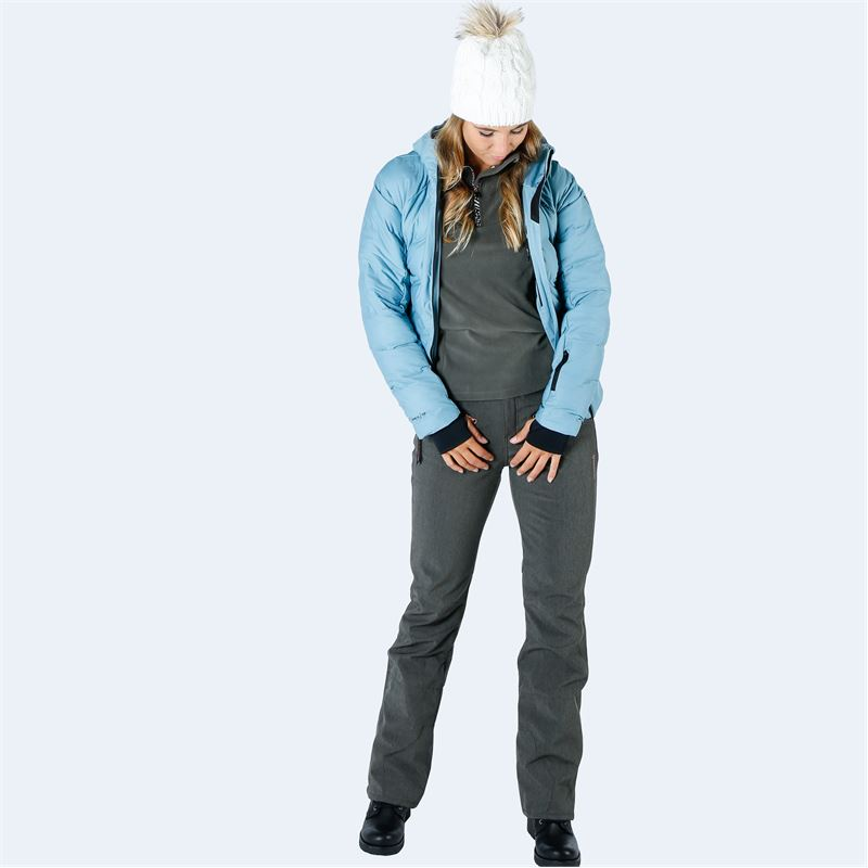 Brunotti Silverlake  (grey) - women snow pants - Brunotti online shop