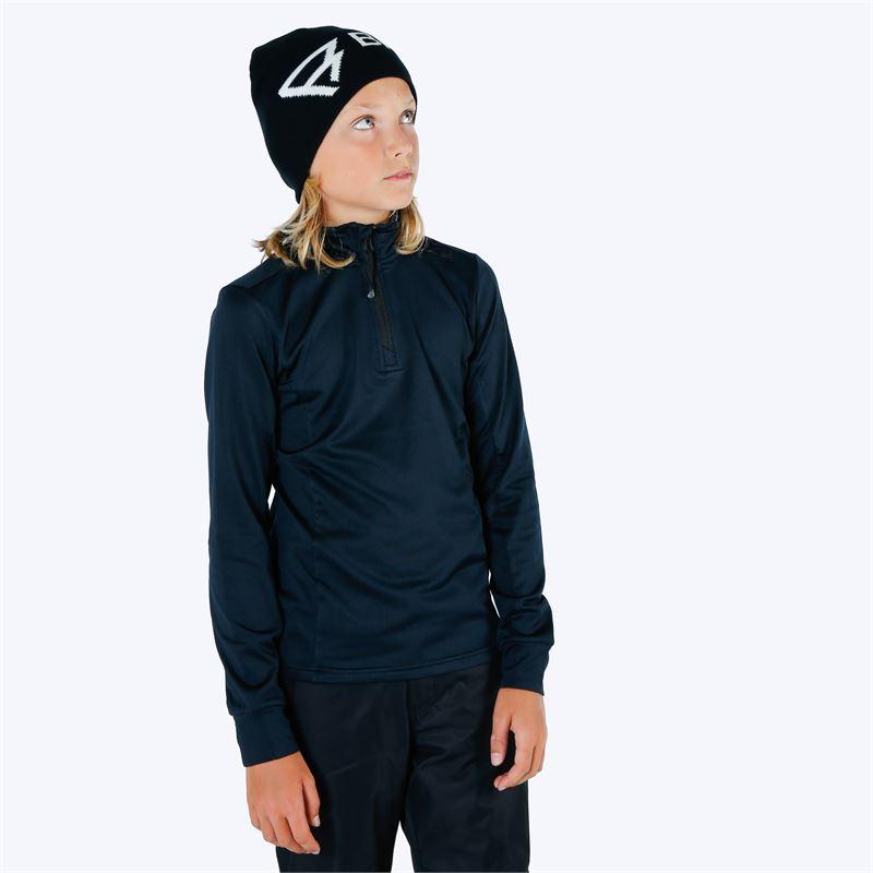 Brunotti Terni  (zwart) - jongens fleeces - Brunotti online shop