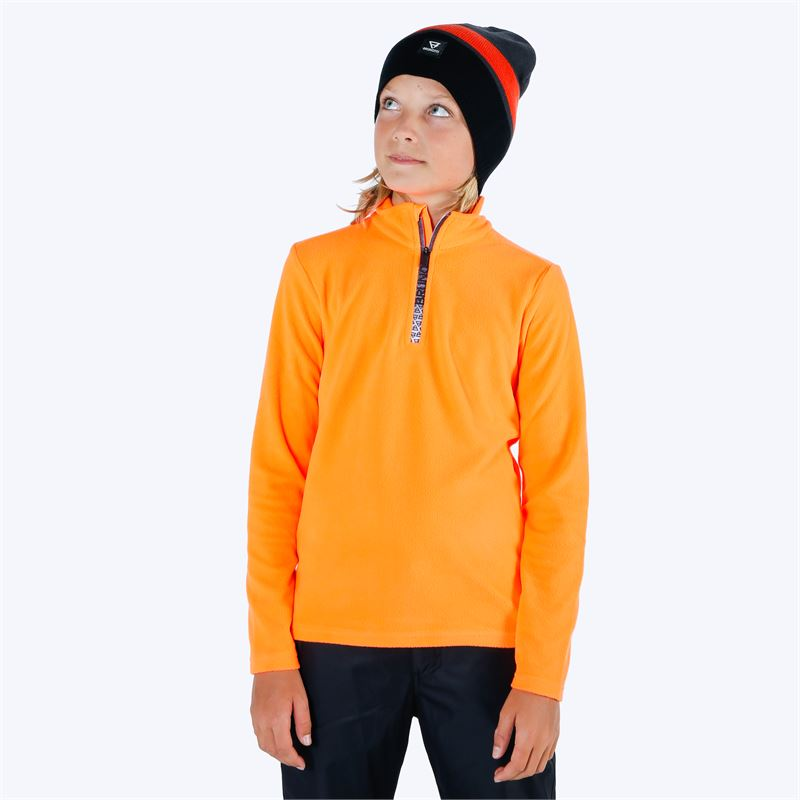 Brunotti Tenno  (orange) - jungen fleeces - Brunotti online shop