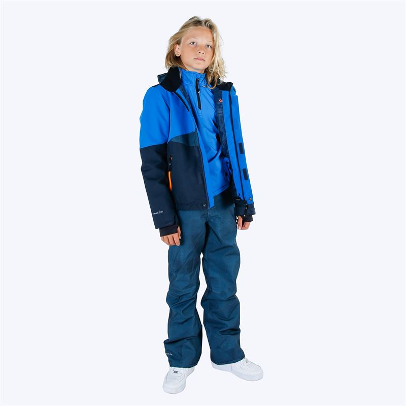 Brunotti Kitebar  (blue) - boys snow pants - Brunotti online shop